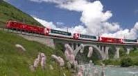 Trens: Glacier Express: Zermatt-Chur - Davos/St. Moritz